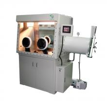 GB-125D Double-sided glove box (incl. purification/regeneration system)